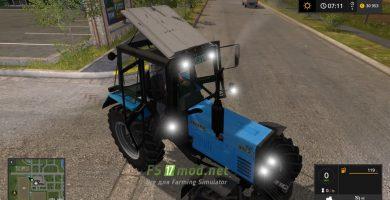 Мод на Belarus 892 MTZ для игры Farming Simulator 2017