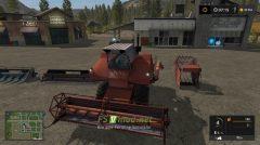 Мод на СК-6 Колос для игры Farming Simulator 2017