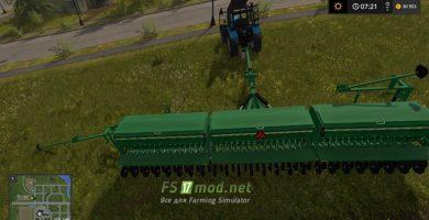 Мод на Great Plains 3S-3000HD для игры Фермер симулятор 2017