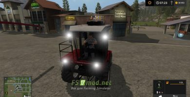 Мод на Палессе 2U250А для игры Farming Simulator 2017