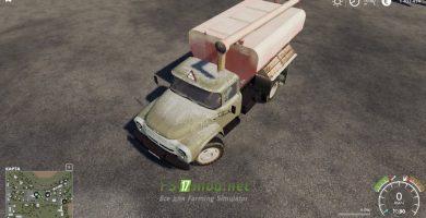 Мод на грузовик ЗИЛ 130 ЗСК