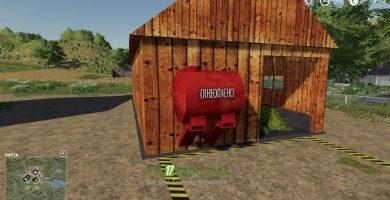 Мод на Сеносушилку для игры Farming Simulator 2019