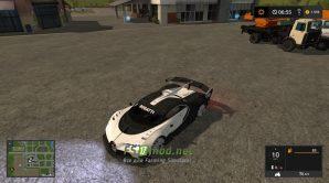 Мод на Bugatti Vision Gran Turismo 2015 для игры Фарминг Симулятор 2017