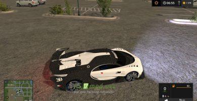 Мод на Bugatti Vision Gran Turismo 2015