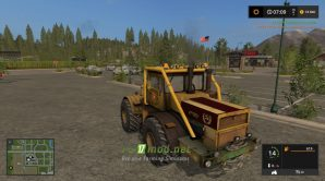 Mод на трактор Кировец К700 для игры Фермер симулятор 2017