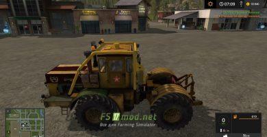 Mод на трактор Кировец К700