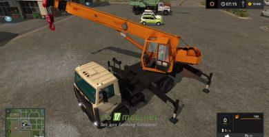 Мод на МАЗ 5337 КС-35715 «Ивановец» для игры Farming Simulator 2017