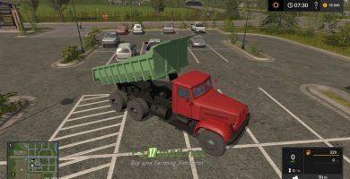 Мод на КРАЗ 222 для игры Фермер Симулятор 2017