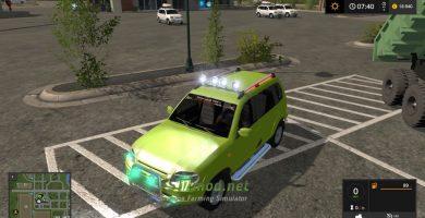 Мод на автомобиль Нива Chevrolet для игры Фарминг Симулятор 2017