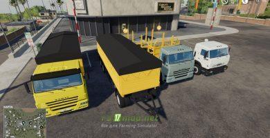 Мод на пак Камаз для игры Farming Simulator 2019
