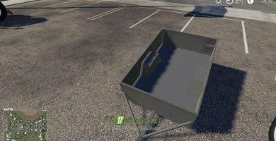 fsScreen_2Mод на One Axle Trailer для игры Farming Simulator 2019019_05_16_09_47_17_fs