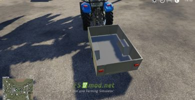One Axle Trailer