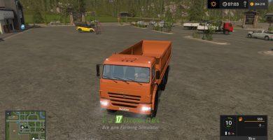 КАМАЗ-68900Р «Зерновоз»
