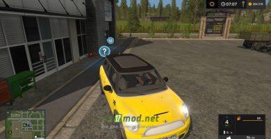 Мод на автомобиль Mini Clubman R55 для игры Фарминг Симулятор 2017
