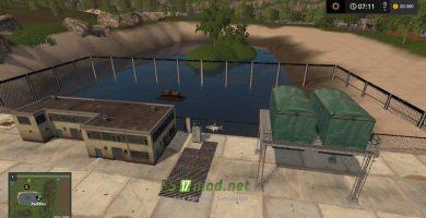 Мод на карту «Совхоз Заря» для игры Farming Simulator 2017