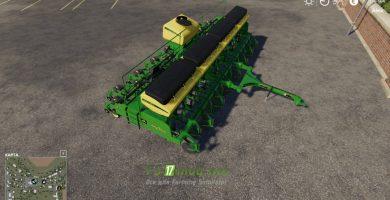 Mод на John Deere CCS 2117 для игры Farming Simulator 2019