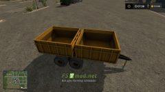 Мод на прицеп ММЗ для игры Farming Simulator 2017