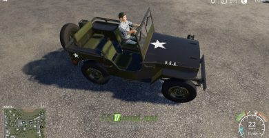 Mод на Willys Jeep для игры Farming Simulator 2019