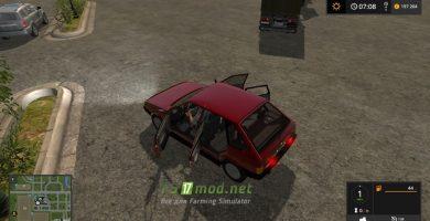 Мод на автомобиль ВАЗ 2109 для игры Farming Simulator 2017