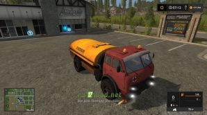Мод на МАЗ 500 «Огнеопасно» на для игры Фарминг Симулятор 2017