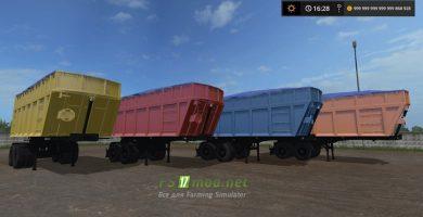 Mод на МАЗ-950600-030 для игры Farming Simulator 2017