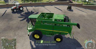 Moд на John Deere STS 60-70 Series для игры Farming Simulator 2019