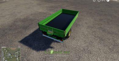 Mод на John Deere Gator Trailer для игры Farming Simulator 2019