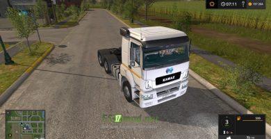 Мод на МАЗ 6422 для игры Farming Simulator 2017
