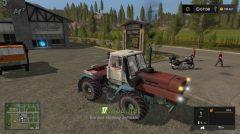 Мод на ХТЗ Т-150К для игры Farming Simulator 2017