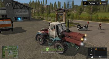 Мод на ХТЗ Т-150К для игры Farming Simulator 2017