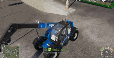 Мод на New Holland LM 7.42