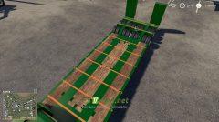 Wheelsloader Lowdecktrailer