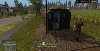 Мод на «Русский Сторож» для игры Farming Simulator 2017