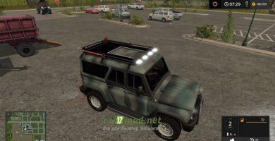 Mод на УАЗ Барс для игры Farming Simulator 2017