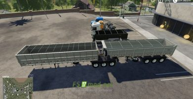 Mод на Brazillian Truck Pack By Farm Centro-Sul