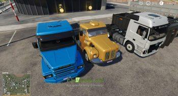 Mод на Brazillian Truck Pack By Farm Centro-Sul для игры Farming Simulator 2019