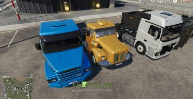 Mод на Brazillian Truck Pack By Farm Centro-Sul для игры Farming Simulator 2019