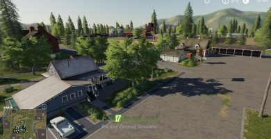 Мод на карту Valley Crest Farm 4FACH