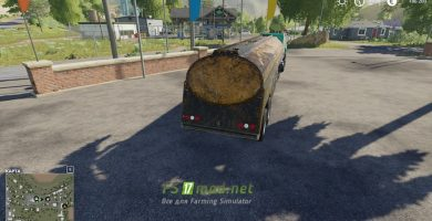 Mод на COE Tanker для игры Farming Simulator 2019