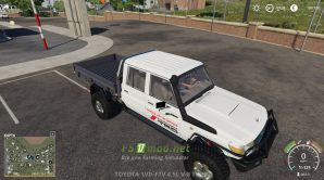 Mод на Toyota Land Cruiser 70 для игры Farming Simulator 2019