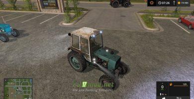 Мод на трактор ЮМЗ 6КЛ 4X4
