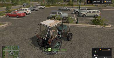 Мод на трактор ЮМЗ 6КЛ 4X4 для игры Фермер Симулятор 2017