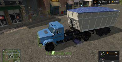 Mод на МАЗ-950600-030