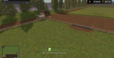 Мод на карту Delight Valley (Долина Восторг) для игры Farming Simulator 2017