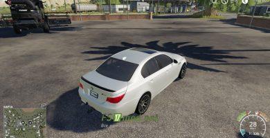 Mод на BMW M5 E60 для игры Farming Simulator 2019