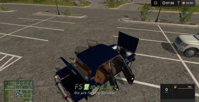 Мод на автомобиль Лада Жигули 2106 4Х4 для игры Farming Simulator 2017