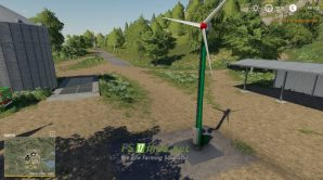 Mод на Small Wind Turbine для игры Farming Simulator 2019