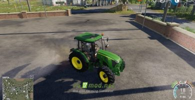Mод на John Deere 5085M для игры Farming Simulator 2019