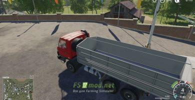 Mод на Tatra 815 AGRO для игры Фермер Симулятор 2019