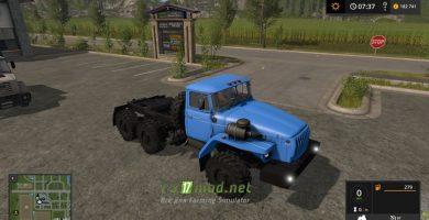 Мод на УРАЛ 4320 и Нефаз 9334-20-16 для игры Farming Simulator 2017